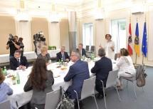Landeshauptfrau Johanna Mikl-Leitner lud zur ersten gemeinsamen Regierungsklausur aller Regierungsmitglieder.