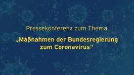 Maßnahmen der Bundesregierung zum Coronavirus