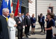 Landeshauptfrau Johanna Mikl-Leitner empfing heute viele nationale und internationale Gäste beim Europa Forum Wachau