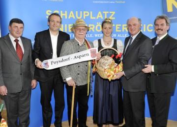 Landeshauptmann Dr. Erwin Pröll gab bekannt, dass die NÖ Landesausstellung 2013 in Poysdorf und Asparn an der Zaya stattfinden wird.