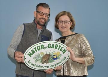 ORF-Bio-Gärtner Karl Ploberger und Landeshauptmann-Stellvertreterin Mag. Johanna Mikl-Leitner