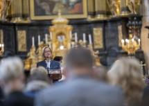 Landeshauptfrau Johanna Mikl-Leitner bei ihrer Festrede.