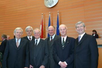 25 Jahre NÖ Landesverfassung: Aus diesem Anlass fand heute im Sitzungssaal des NÖ Landtages in St. Pölten ein Verfassungstag mit hochrangigen Vertretern aus Wirtschaft, Politik und öffentlichem Leben statt.