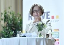 """Landeshauptfrau Johanna Mikl-Leitner hielt die Impulsrede bei der REWE-Regionalkonferenz zum Thema """"In der Region. Aus der Region. Für die Region.""""."""