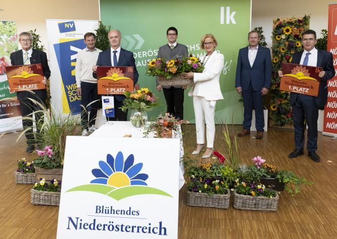 """""""Blühendes Niederösterreich"""" kürte Sieger"""