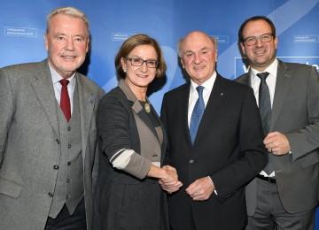 Mag. Johanna Mikl-Leitner wird für die Nachfolge von Dr. Erwin Pröll kandidieren.
