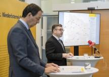 Landesrat Schleritzko sprach am heutigen Donnerstag zu Details über Verkehrsinfrastruktur-Projekte für das nördliche Niederösterreich.
