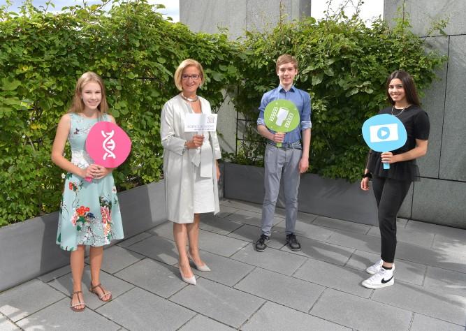 Niederösterreichs Jugendliche forschten bei der Sommerwoche der Science Academy
