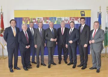 Landeshauptleute-Konferenz im Landhaus in St. Pölten.
