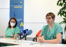 Informierten aus erster Hand: Sabine Gubi und Markus Korntheuer