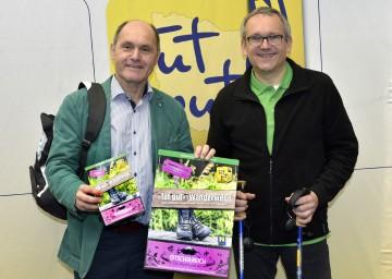 Landeshauptmann-Stellvertreter Mag. Wolfgang Sobotka und Landesausstellungs-Geschäftsführer Kurt Farasin