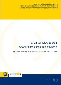 NÖ Landesverkehrskonzept, Heft 29; Kleinräumige Mobilitätsangebote - Broschüre