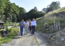 LH-Stellvertreter Stephan Pernkopf (rechts vorne) informierte sich vor Ort.
