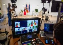 Der Bundesjugendredewettbewerb im Landhaus in St. Pölten war auch in Art und Durchführung als Onlineformat völlig neu konzipiert.