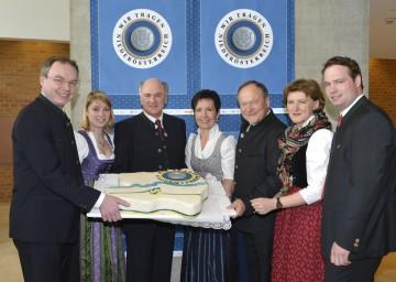 """In Grafenegg wurde heute, 20. Februar, der fünfte Geburtstag der Initiative \""""Wir tragen Niederösterreich\"""" gefeiert."""
