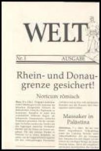 Welt & Zeit. Eine Zeitung aus dem 1. Jahrhundert n. Chr.
