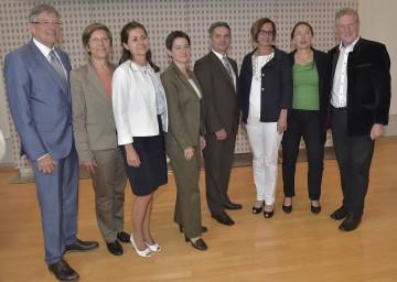 Außerordentliche Konferenz der Landes-Flüchtlingsreferenten in St. Pölten. Auch Bundesministerin Mag. Johanna Mikl-Leitner nahm daran teil.