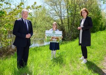 Landesrat Martin Eichtinger und Landesrätin Christiane Teschl-Hofmeister freuen sich auf die Fachtagung Gartenpädagogik am 25. Mai, die ganz im Zeichen des Klimawandels in Natur und Schule steht
