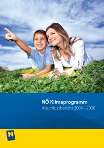 Klimabericht 2004 - 2008 Abschlußbericht