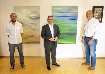 Dr. Patrick Scherhaufer, Landesrat Ludwig Schleritzko und Franz Gausterer (v.l.n.r.)