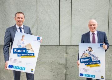 Wirtschafts- und Technologie-Landesrat Jochen Danninger und ecoplus Geschäftsführer Helmut Miernicki