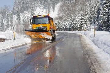 Der NÖ Straßendienst ist seit Beginn des neuen Jahres nahezu flächendeckend im Volleinsatz.