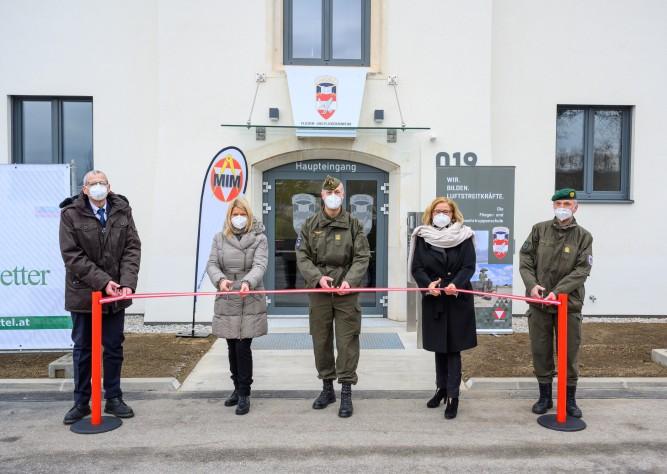 Generalsaniertes Objekt 19 am Fliegerhorst Brumowski in Langenlebarn eröffnet