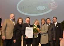 """In der Kategorie """"Einsteiger des Jahres 2014\"""" gewannen Michael und Dagmar Galler mit ihrem Wirtshaus Blumenstöckl in Klosterneuburg."""