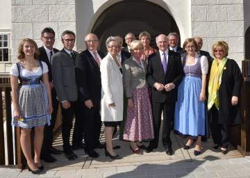 Eröffnung der NÖ Landesausstellung 2017 im Schloss Pöggstall.