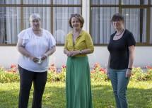 Christine Rosenbach (NÖ Gleichbehandlungsbeauftragte), Frauen-Landesrätin Christiane Teschl-Hofmeister, Claudia Grübler-Camerloher (NÖ Gleichbehandlungsbeauftragte-Stellvertreterin)