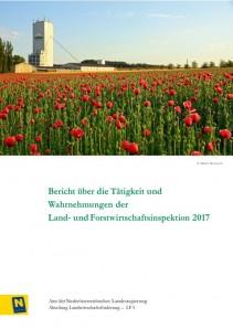 Tätigkeitsbereicht der Land- und Forstwirtschaftsinspektion 2017