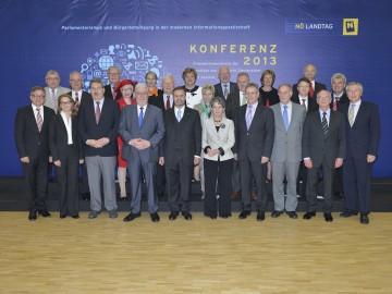Gemeinsame Konferenz der Landtagspräsidenten aus Österreich, Deutschland und Südtirol in Krems.