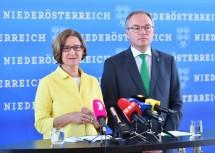 Mikl-Leitner und Pernkopf: Als erster Schritt zum neuen Landesentwicklungskonzept wird eine Befragung der Bevölkerung durchgeführt.