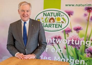 Landesrat Martin Eichtinger blickt zuversichtlich in das neue Gartenjahr und informierte über Schwerpunkte