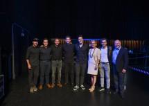 Alexander Eder & Band, Landeshauptfrau Johanna Mikl-Leitner, Business Angel Michael Altrichter und Rudi Roubinek (v.l.n.r.)