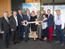 Eröffnung des SeneCura Sozialzentrums Traiskirchen mit Sozial-Landesrätin Mag. Barbara Schwarz (Mitte).