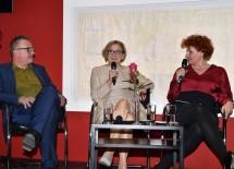Am Podium diskutierten Univ.-Prof. Helmut Leder und Landeshauptfrau Johanna Mikl-Leitner unter der Moderation von Kurier-Innenpolitik-Redakteurin Ida Metzger. (v.l.n.r.)