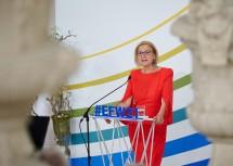 LH Mikl-Leitner sprach am Schlusstag des 25. Europa-Forum Wachau.