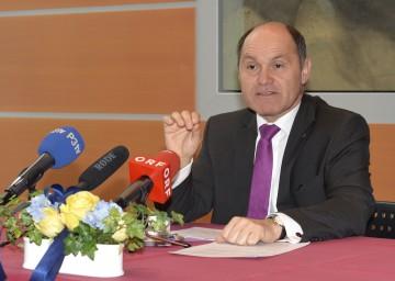 Landeshauptmann-Stellvertreter Mag. Wolfgang Sobotka informierte über die Verhandlungen zum NÖ-Zielsteuerungsvertrag.