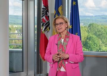 "Landeshauptfrau Johanna Mikl-Leitner: Der heutige 19. Mai ist ""ein Freudentag""."
