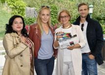 Im Bild von links nach rechts: Maria Happel,  Lilian Klebow, Landeshauptfrau Johanna Mikl-Leitner und Michael Steinocher