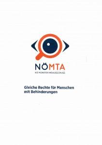 Folder NÖ Monitoringausschuss Broschüre