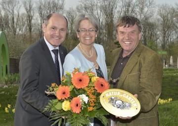 Im Bild von links nach rechts: Landeshauptmann-Stellvertreter Mag. Wolfgang Sobotka, Landesrätin Dr. Petra Bohuslav und Reinhard Kittenberger