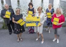 Ehrenamtliche im Kulturbereich (v.l.): Walter Pernikl, Marina Scheutz, Leopoldine Salzer, Landeshauptfrau Johanna Mikl-Leitner, Christa Fleschitz, Alexandra Rieder