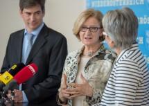 """Landeshauptfrau Johanna Mikl-Leitner: """"Ganz klares Bekenntnis, in Wissenschaft und Forschung zu investieren."""""""