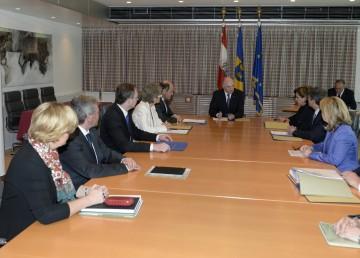 Konstituierende Sitzung der NÖ Landesregierung.