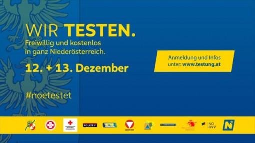 Niederösterreich testet