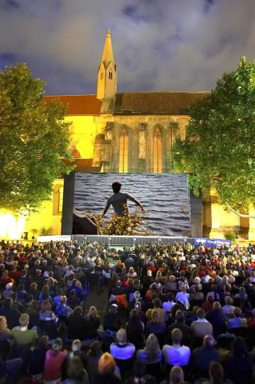 Heuer beteiligen sich 19 Spielstätten am NÖ Kinosommer, hier das Wachau Filmfestival in Krems.