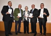 Thomas Jorda, Peter Hartmann, Anneliese Figl, Landeshauptmann a. D. Erwin Pröll und Martin Gebhart.