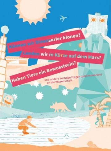 """Cover der Broschüre \""""Fragen an die Wissenschaft\"""""""